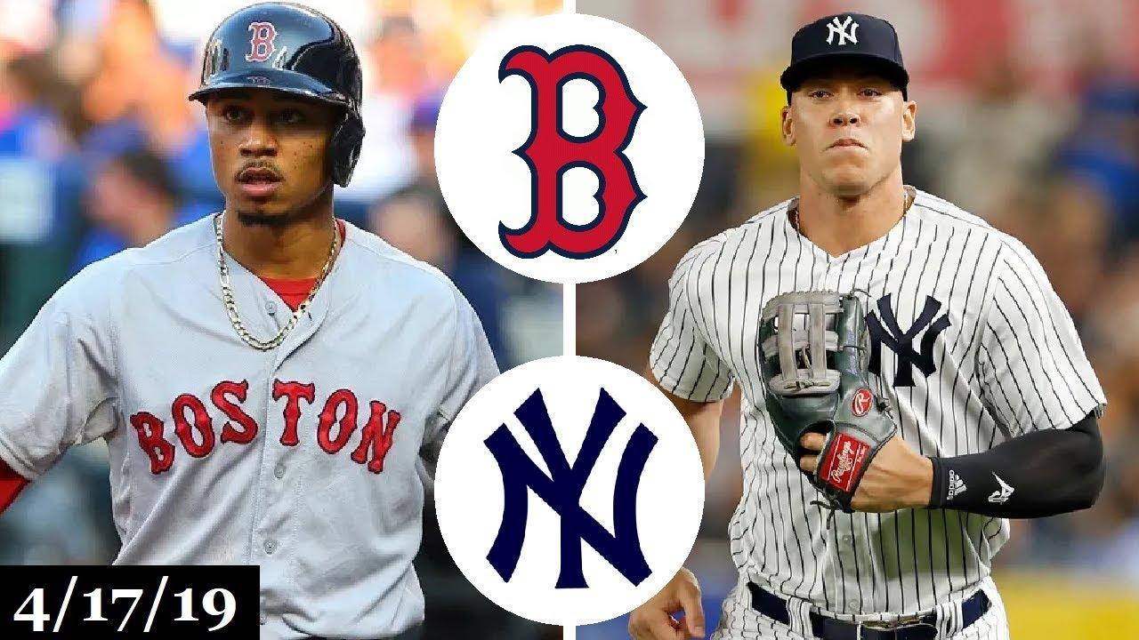 Boston Red Sox vs New York Yankees Highlights   April 17, 2019