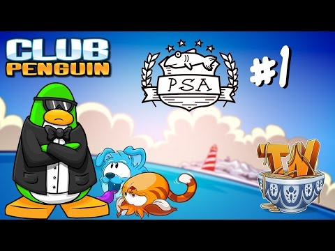 Club Penguin : Case Of The Missing Puffles - PSA Mission #1