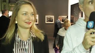 With Elsa Leydier, a rare & talented French Art Photographer 2019 Maison Ruinart ® Award