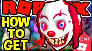 HOW TO GET THE CLOWN HEAD IN Roblox Halloween Event 2018