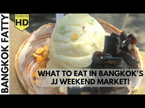 "Bangkok Travel Vlog: The Best Eats in Chatuchak ""JJ"" Weekend Market"