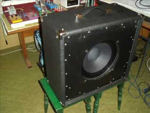 Building a guitar speaker cabinet - YouTube