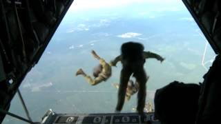U.S. Army Special Forces Green Berets High Altitude Jump