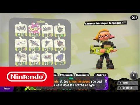 Splatoon 2 Découvrez Nos Tentatutos Pour Bien Débuter Nintendo Switch