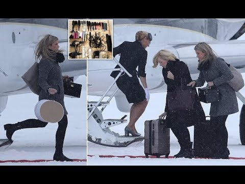 Kate Middleton hairdresser and stylist land in Oslo Norway with Duchess of Cambridge