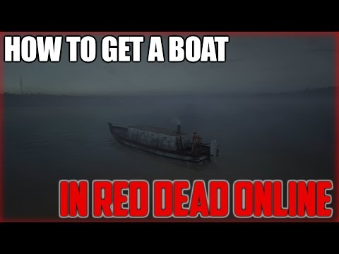 HOW TO GET A BOAT IN RDR 2 ONLINE | Red Dead Redemption 2 (New Method)
