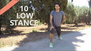 Leg Stretching Exercises For Beginners | Martial arts stretching workout for flexibility