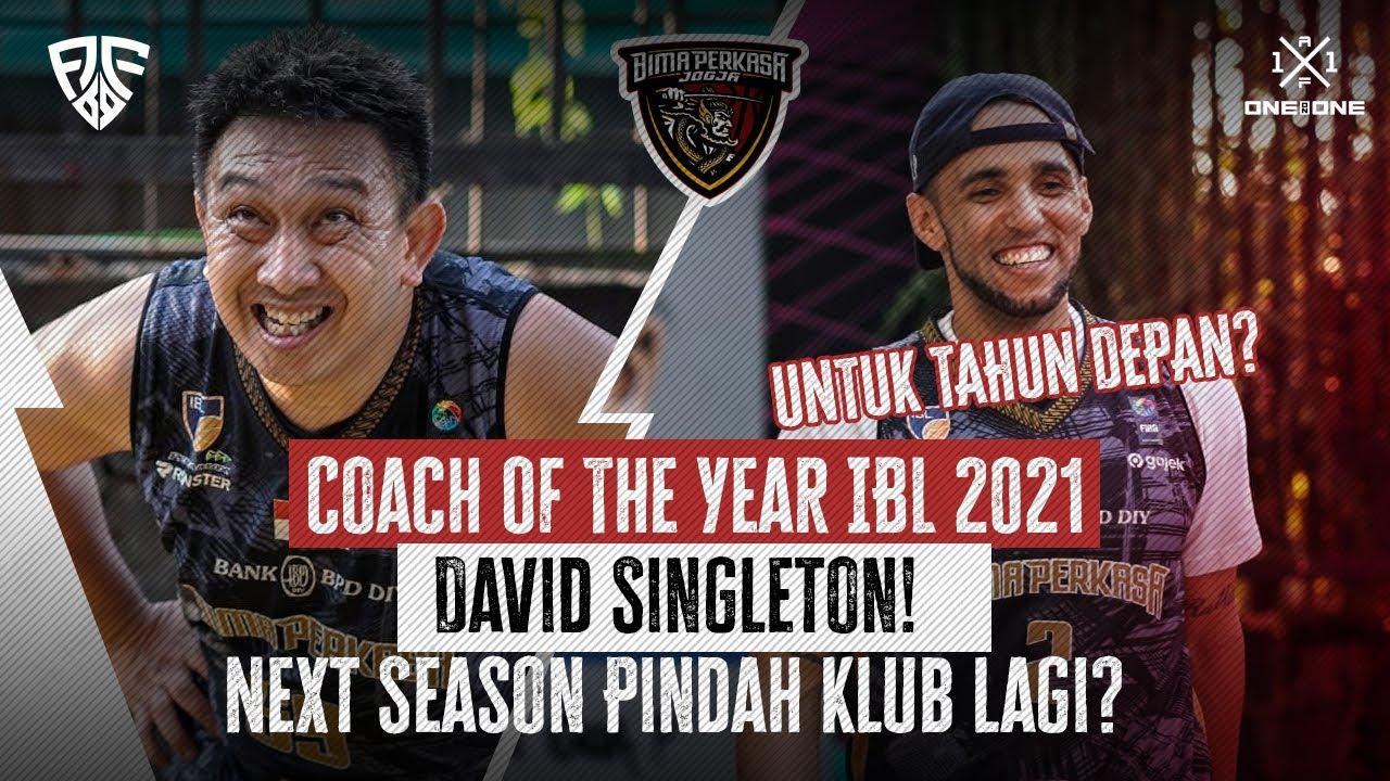 Download Coach Of The Year IBL 2021, David Singleton! Next Season Pindah Klub lagi?