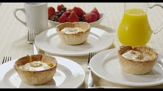Brunch Recipes - How To Make Bacon And Egg Tarts