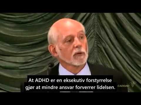 Russell Barkley explains ADHD / forklarer ADHD