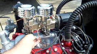 1950 Ford Flathead V8 8BA Mild Rebuild Running