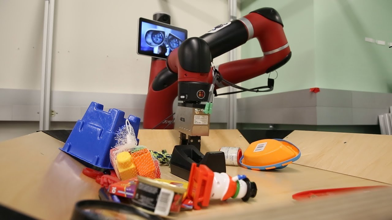 New robots can see into their future   Berkeley News