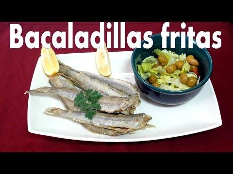 BACALADILLAS FRITAS CON LIMÓN (RICAS Y JUGOSAS)