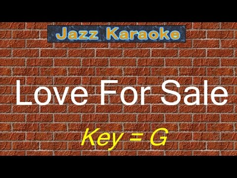 "JazzKara  ""Love For Sale"" (Key=G)"