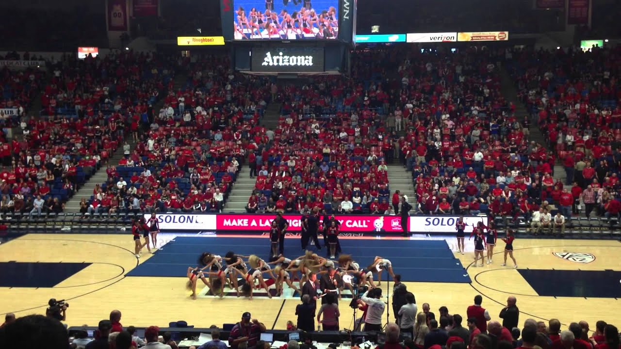 Can university of arizona cheerleader with