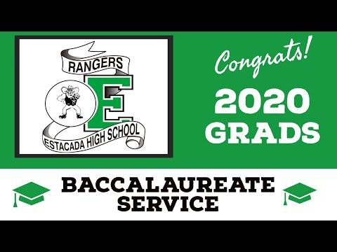 Estacada High School 2020 Baccalaureate Service