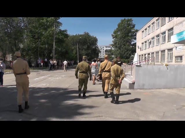 Открытие памятников Маргелову В.Ф.