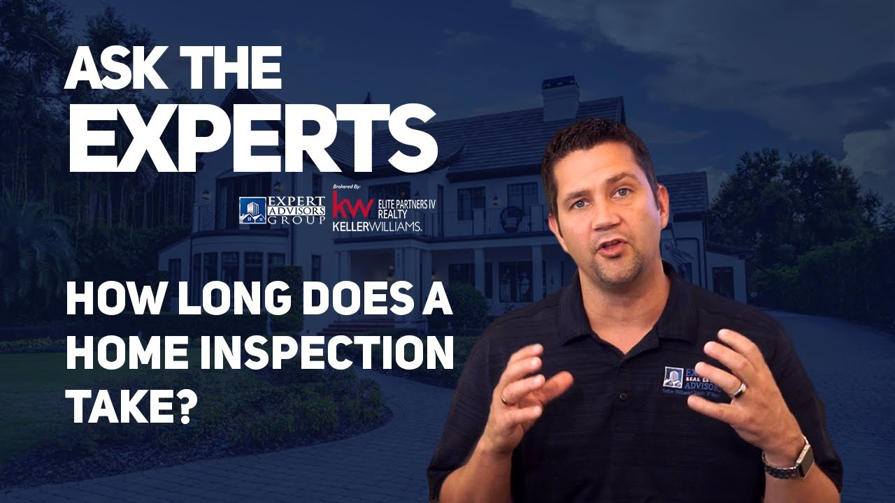 Ask the Experts 05 How Long Does a Home Inspection Take? - Jon Wanberg