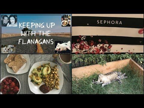 EPIC SEPHORA HAUL! | Garden Update! | KUWTF VLOG August 2nd - 5th 2017