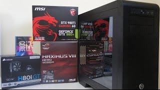 intel i7 6700k gtx 980 ti gaming pc