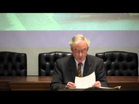 """Professor John Finnis, """"Patriation and Patrimony: The Path to the Charter"""""""