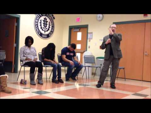 Hypnotized Uconn Students