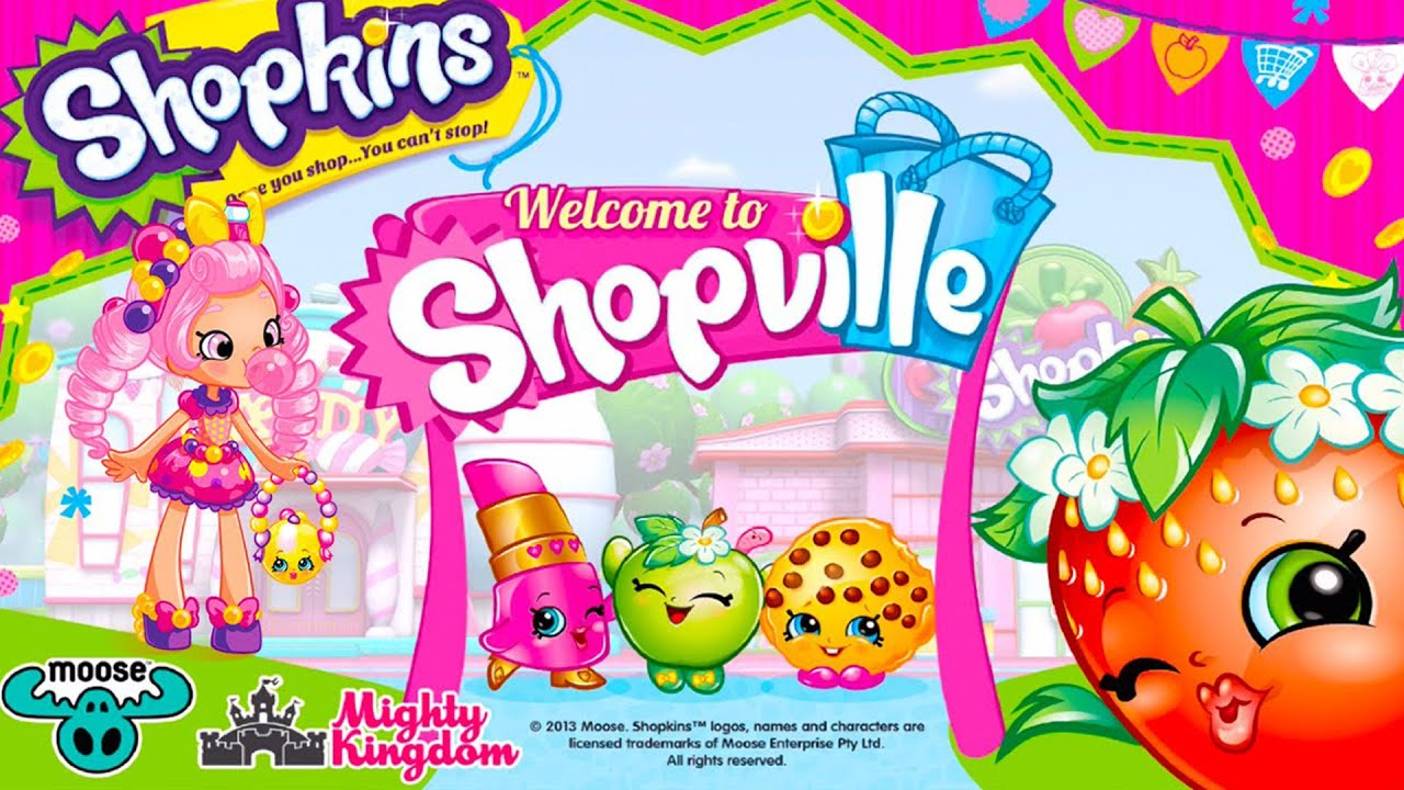 Shopkins welcome to shopville new petkins park update - Shopkins wallpaper ...