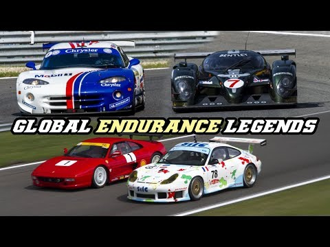 Global Endurance Legends 2018 Spa (996 RS, 360 GTC, GTS-R, Bentley, Supra, Venturi, ..)