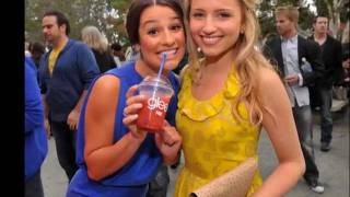 Diana Agron and Lea Michelle