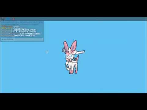 Pokemon Brick Bronze How To Evolve Eevee Into Sylveon Youtube