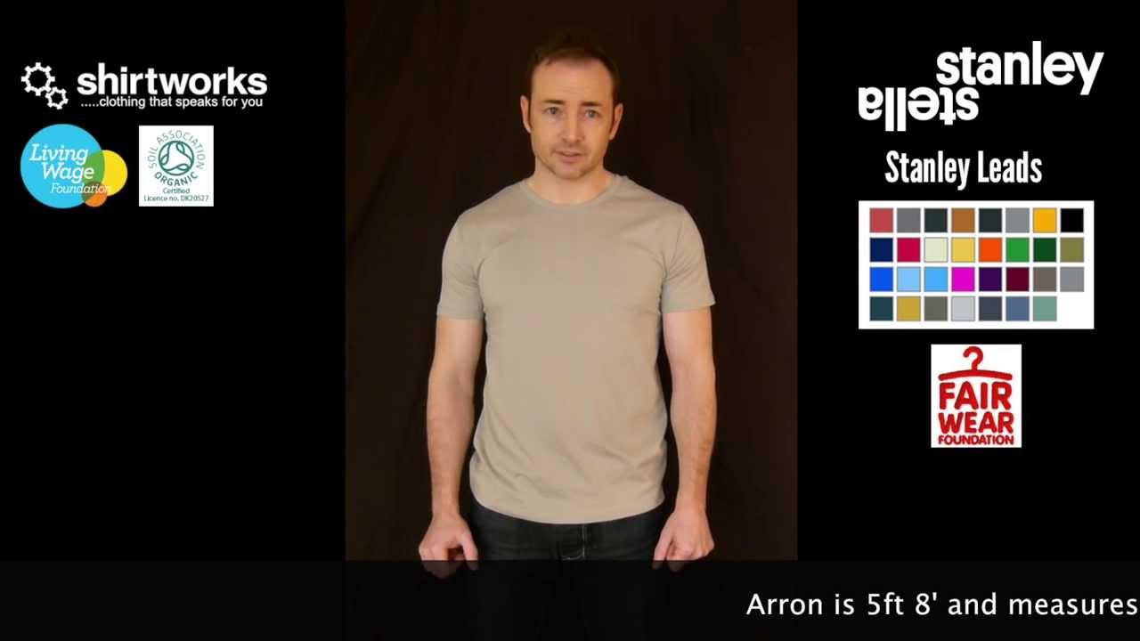stanley stella leads t shirt youtube. Black Bedroom Furniture Sets. Home Design Ideas