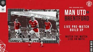 Manchester United v Brentford | LIVE MUTV pre-match build up | Weds 19:00 (BST)