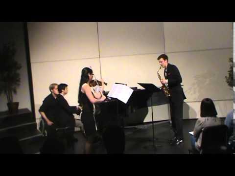 Trio for Alto Saxophone, Violin & Piano -  Russell Peterson
