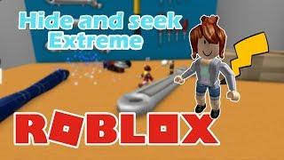 MINHA PRIMEIRA VEZ NO ROBLOX! Cherry em: Hide and Seek Extreme