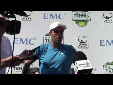 Steve Johnson Wins at 2016 ATP Newport