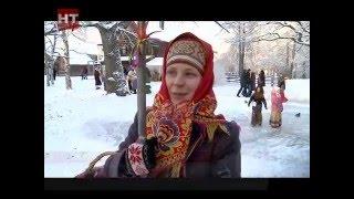 видео Музей деревянного зодчества Витославлицы.