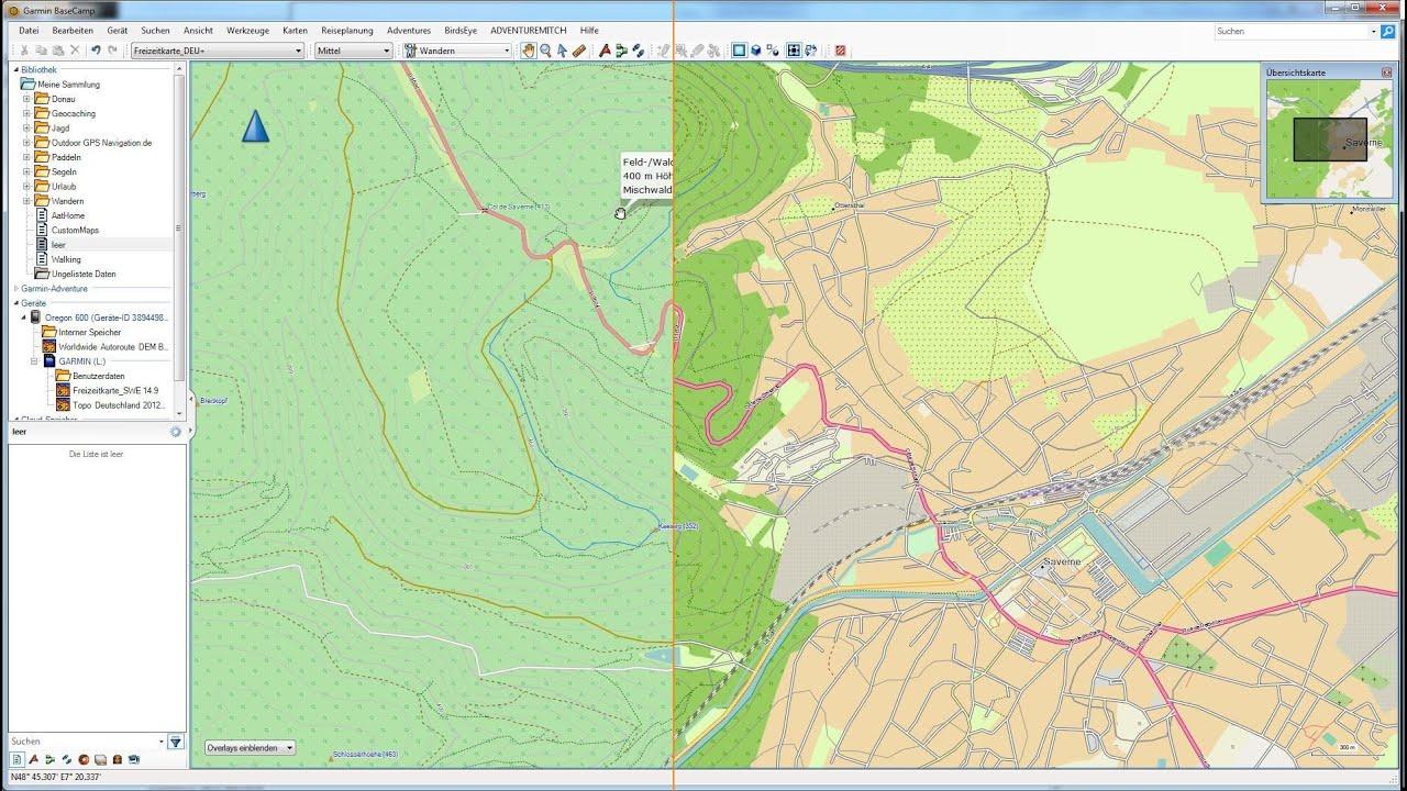 Tipps Und Infos Zu Karte Kompass Gps Navigation Youtube