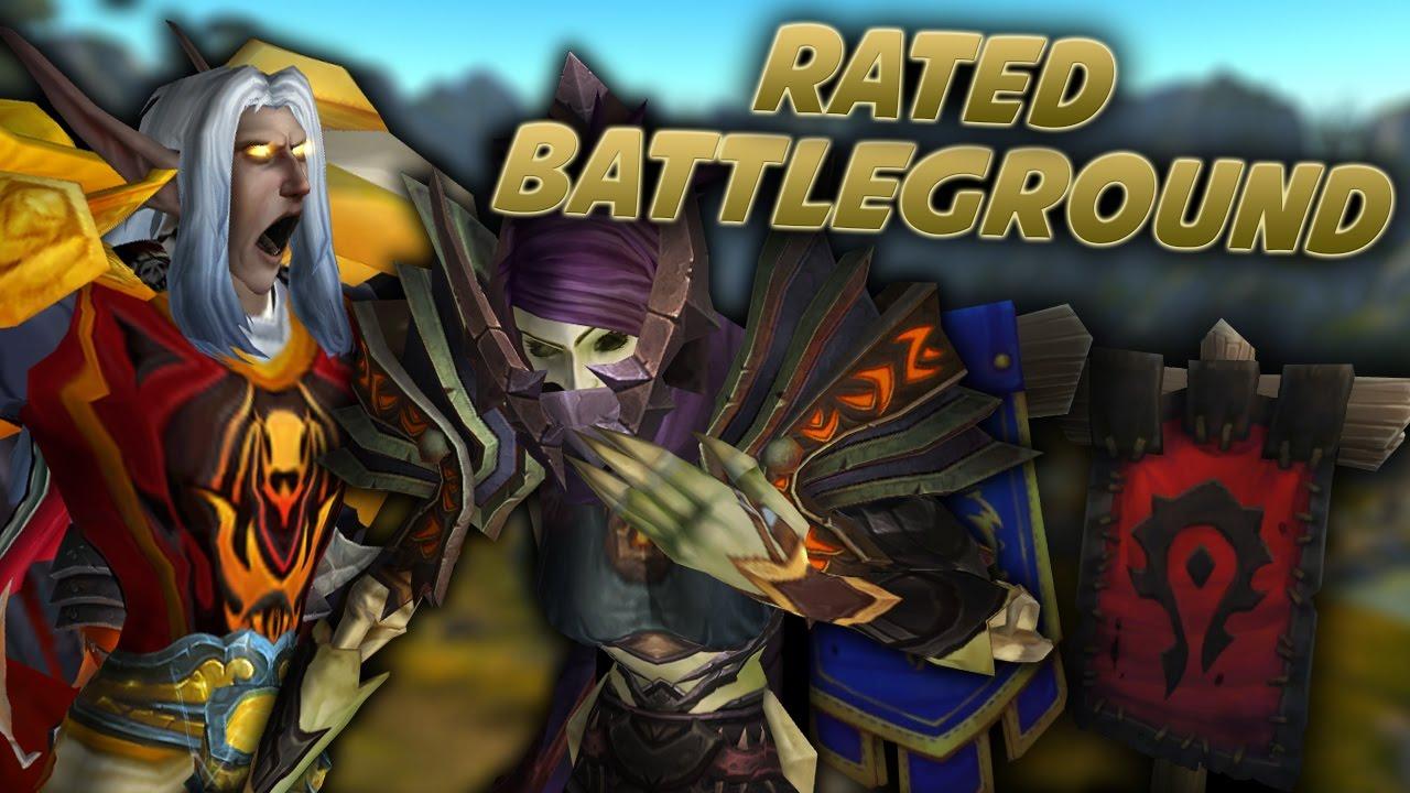 PRIEST TROLL - Prot Warrior Rated Battleground (Arathi Basin