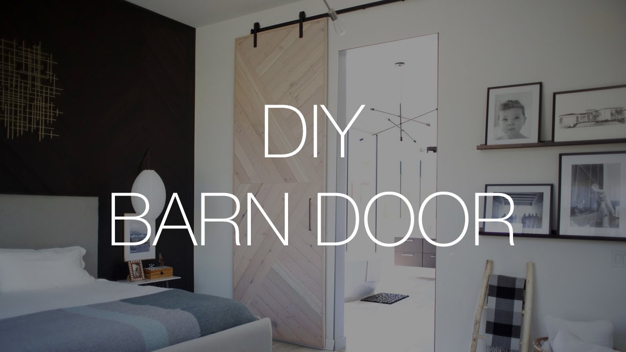DIY large barn door