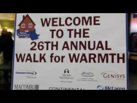 Walk for Warmth - In Good Health with McLaren Macomb - March-April 2016