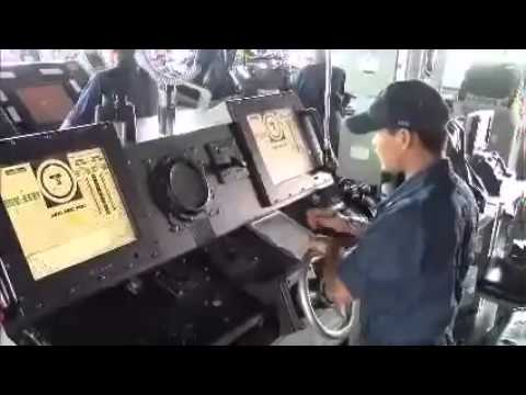 USS Kidd Turns During MH370 Search