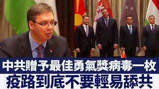 塞爾維亞總統依賴中共抗疫 長子驚傳確診 新唐人亞太電視 20200411