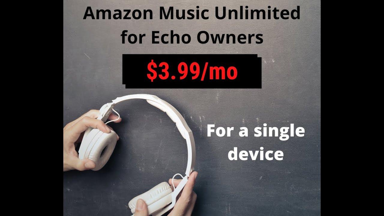 Amazon Music Unlimited Echo Kosten