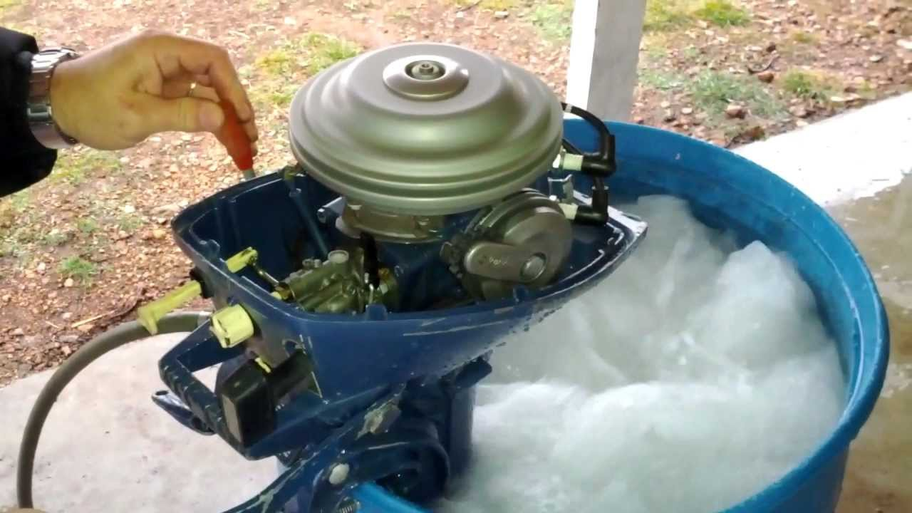 4 HP Evinrude Lightwin - YouTube