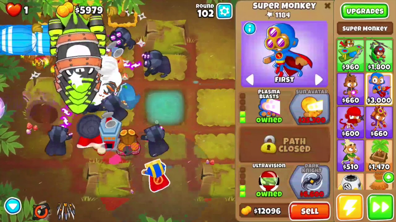 Bloons TD 6 | Beating Impoppable in Logs!