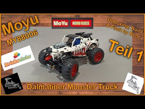 Viel Potenzial verschenkt   Dalmatiner Monster Truck von Moyu