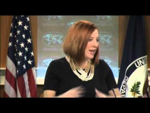 AP's Matt Lee Grills State Dept. On Treatment Of Iran Vs. Israel