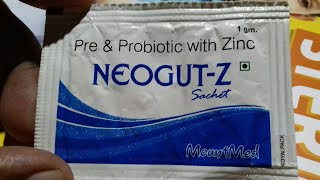 NEOGUT - Z SACHET 1gm | Use | Doages | Compostion | Price | Full Hindi Review