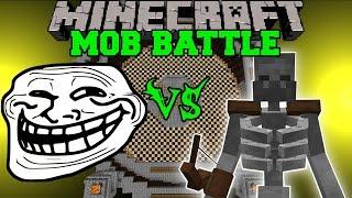troll-mod-vs-mutant-skeleton-skele-ton-amp-more-minecraft-mod-battle-mob-battles-mods