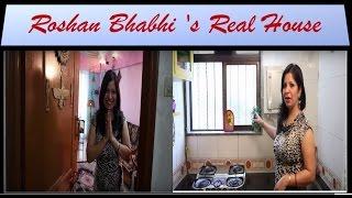 Roshan Bhabhi 's Real House from Taarak Mehta Ka Ooltah Chashmah -tmkoc - Jennifer Mistry